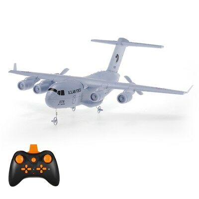 RTF C-17 2.4GHz 373mm Wingspan RC Flugzeuge Transport Aircraft 2CH EPP Gut