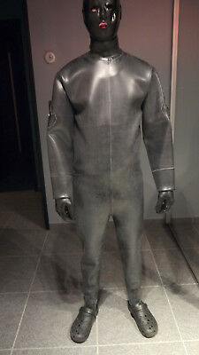 latex suit