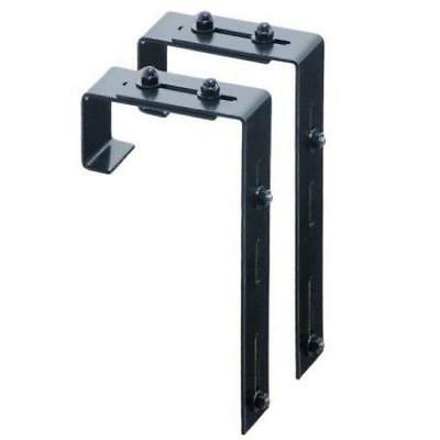 Mayne Adjustable Deck Rail Bracket 2-pack 3832
