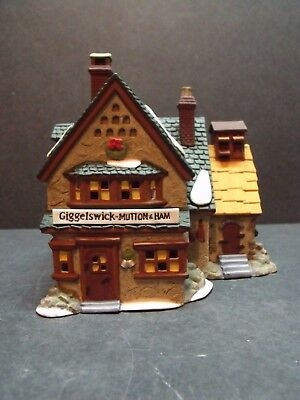 "Dept 56 Dickens' Village ""giggelswick Mutton & Ham"" - #58220 - New In Box"