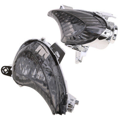2Pcs Motorcycle Front Turn Signal Lens Cover for Suzuki GSX1300R 2008-2012