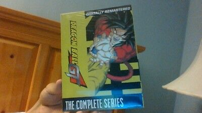 DragonBall GT: The Complete Series (DVD, 2010, 10-Disc Box Set) New Sealed
