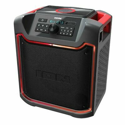 ION Pathfinder Charger, Bluetooth Portable Speaker, Wireless Qi Charging
