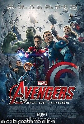 AVENGERS 2 AGE OF ULTRON MOVIE POSTER DS 2-sided 27x40 MARVEL