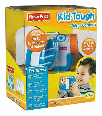 Fisher Price Kid Tough Video Camera Blue