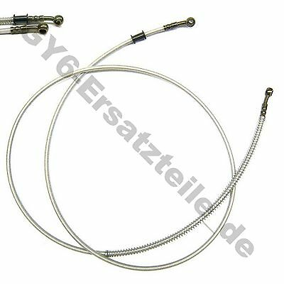"Hydraulic Rear Brake Cable Steel Flex Line 80""/203Cm Gy6 Scooter Taotao Znen Bms"