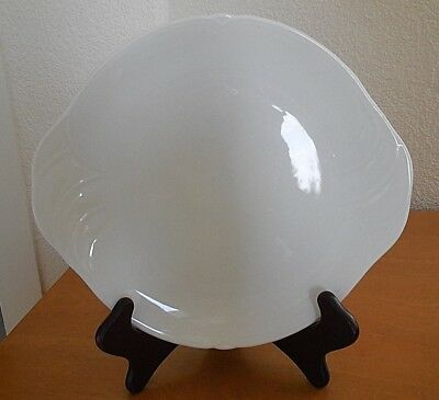 Excellent 1990 Royal Doulton PROFILE -  H5176  - Tab Handle Platter White