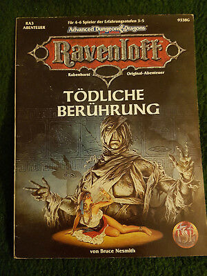 AD&D Advanced Dungeons&Dragons - Tödliche Berührung - TSR 9338G - RA3 Ravenloft