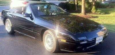 1990 Mazda RX-7 Deluxe 1990 Mazda RX7 Convertible with only 13,865 original miles ---  Price $15,000