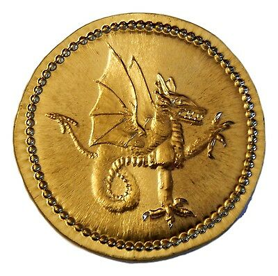 """VLAD TEPES/VLAD THE IMPALER,""""DRACULA"""" BRASS COIN-Shire Post Mint"""