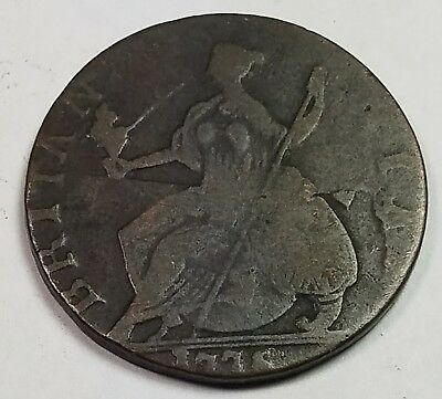 1775 Great Britain UK Half Penny