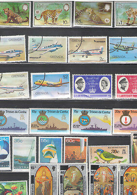 Br. Commonwealth - 7 mnh sets - see below for details