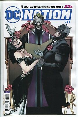 Dc Nation #0 Clay Mann Variant Cover - Dc Comics/2018 - 1/250