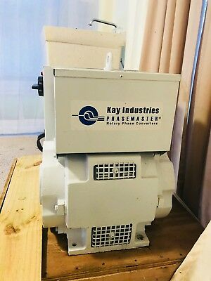 Kay Industries Phasemaster - Rotary Phase Converter