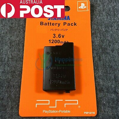 New Rechargable Battery Pack for Sony PSP2000 & 3000 3.6V 1200mAh