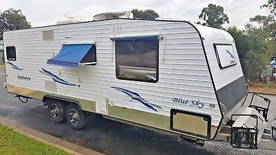 2012 Blue Sky Caravan Shower Toilet Onsite Bungalow Cabin *WATCH VIDEO*