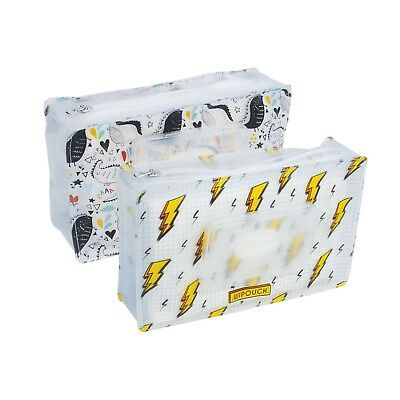 WIPOUCH™ Blotz & Dinos Refillable Wet Wipes Pouch Set of 2 WIPOUCH60 Express
