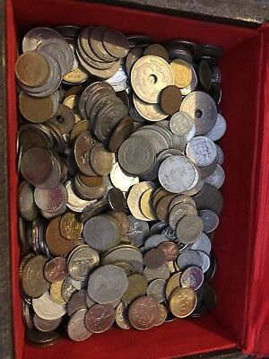 Mixed World Coins 450g Unsorted