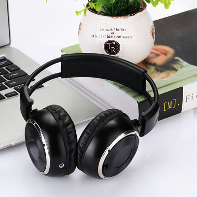 Dual Channel Headphone Headset Infrared IR Wireless Stereo Car Music Player