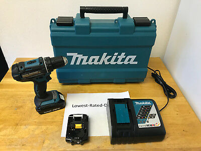 """Makita XFD10R LXT 18V Lithium-Ion Compact Cordless 1/2"""" Drill BatteryCharger Kit"""