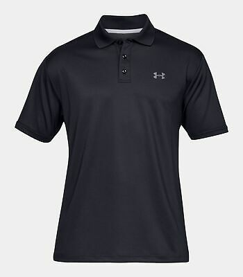50a143f8 New Under Armour Men's Charged Cotton Scramble Polo Shirt 1281003 XL Fire  Orange