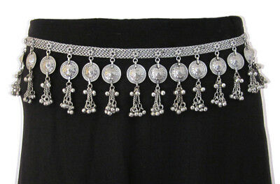 Womens Fashion Dress Belt Metal Chain Fringe Handcrafted Festival Bohemian Style