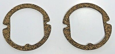 Pair (2) Gaskets 1957 57 Chevy Parking Turn Light Lamp Lens