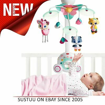 Tiny Love Soothe & Groove Tiny Princess Tales Mobile For Cot│Portable Music Box