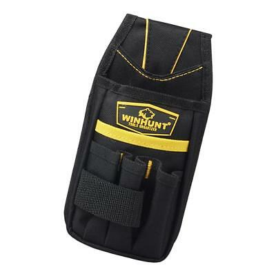 Cloth Tool Bag for Roofer Maintenance Workers Construction Haversack Black C