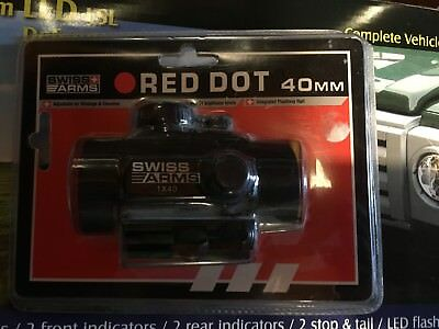 Red Dot Point rouge 1x40 - Swiss Arms - 63855 airsoft