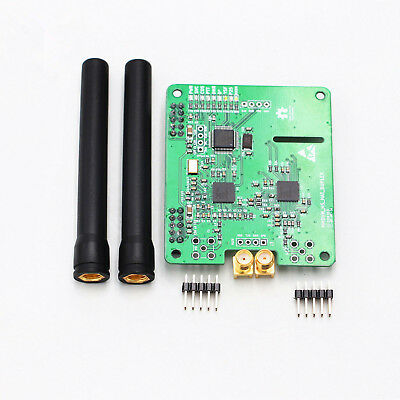 2018 Duplex MMDVM Hotspot Support P25 DMR YSF for Raspberry Pi With 2pcs Antenna