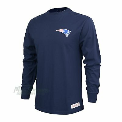 New England Patriots NFL Triple Double Long Sleeve T-Shirt by Mitchell & Ness