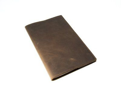 """Moleskine Leather Journal Large 5"""" x 8.25"""" with Lined Pages Handcrafted Crazy"""