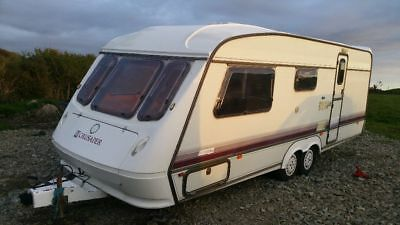elddis twin axle caravan spares or repair