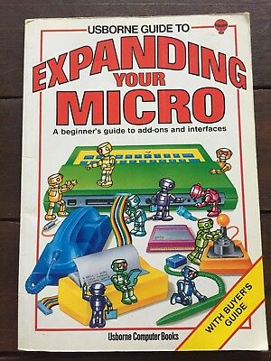 Expanding Your Micro, Add Ons & Interfaces, Usborne Computer Book, Vintage
