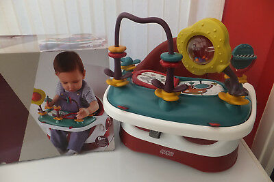 Mamas U0026 Papas Baby Bud Booster Seat Portable Chair U0026 Activity Tray Used Cond