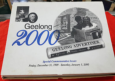 Geelong Victoria Australia 2000 Special Commemorative Issue Newspapers