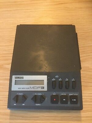 Yamaha MDF3 Midi Data Filer with manual. Working and in good condition.