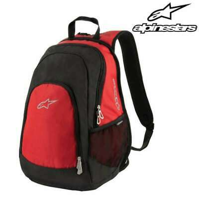 Sac A Dos Moto Alpinestars Defender Backpack Capacite 17 Litres Rouge