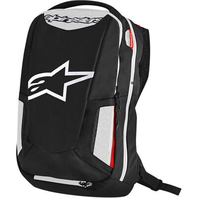 Sac à dos moto Alpinestars City Hunter Backpack capacité 25L Noir/Blanc/Rouge