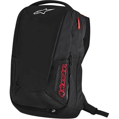 Sac A Dos Moto Alpinestars Cyty Hunter Backpack Capacite 25L Noir Rouge