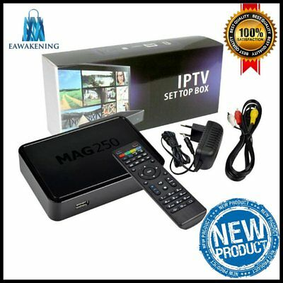 IPTV TV Box Mag250 linux IPTV Set Top Box Without Iptv Account Mag 250 DecodHT