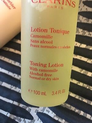 Clarins Toner With Bonus Body Lotion New