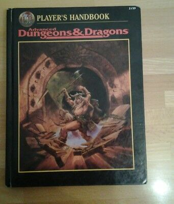 AD&D PLAYER´S HANDBOOK 2159 English Hardcover - TSR Dungeons Dragons
