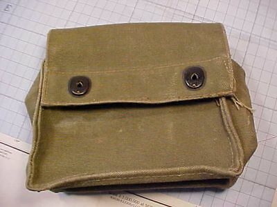 Original Wwii Usaaf E-17 Survival Kit Canvas Pouch Only