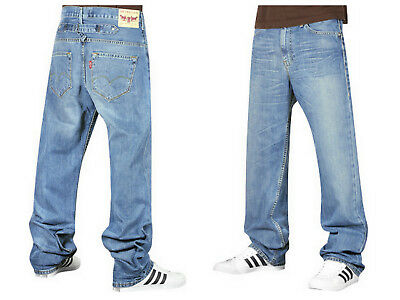10edd5f4235 LEVIS 503 Loose Jeans Washed Denim Cinch Relaxed Carpenter RARE W34 L32 RRP  £95