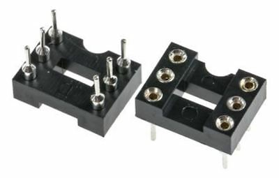 Winslow 2.54mm Pitch Vertical 6 Way, Through Hole Turned pin Open Frame IC Dip S