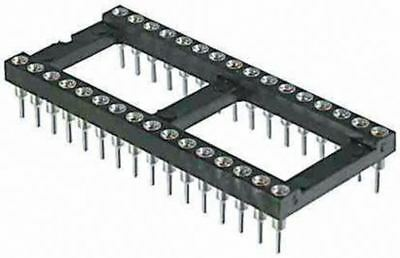 Winslow 2.54mm Pitch Vertical 14 Way, Through Hole Turned pin Open Frame IC Dip