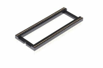 Winslow 1.77mm Pitch Vertical 64 Way, Through Hole Turned pin Open Frame IC Dip