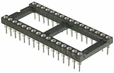 ASSMANN WSW 2.54mm Pitch Vertical 24 Way, Through Hole Turned pin Open Frame IC